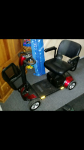 Go go sport mobility scooter/ Eliptical/ 5pd weights