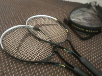 Rebound Tennis rackets with holder