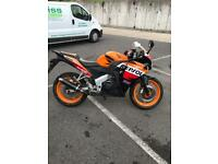 Cbr 125 with low miles and 12 months mot
