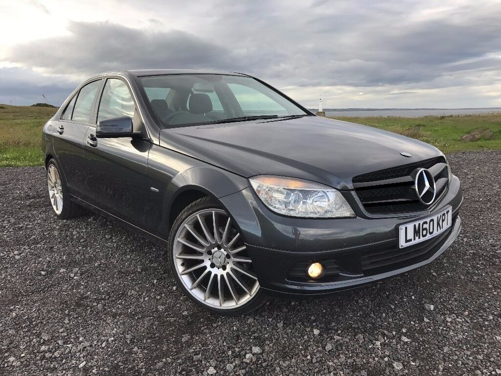 mercedes benz c class c200 cdi blueefficiency saloon 2010 tenorite grey in aberdeen gumtree. Black Bedroom Furniture Sets. Home Design Ideas