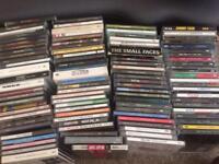 100 CD's Queen, Hendrix, Led Zep, Beatles etc
