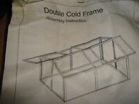 Double Metal Cold Frame