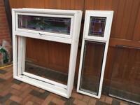 White Double Glazed windows x 10 will split