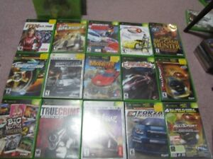 15 XBOX Games Make Offer on Lot