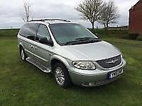 2002 GRAND VOYAGER 2.5 CRD WITH ROOF BOX
