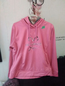 Real Tree pink sweater