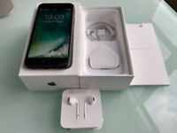MINT CONDITION ABSOLUTE BARGAIN iPhone 7 128GB UNLOCKED ANY NETWORK & BRAND NEW Extras