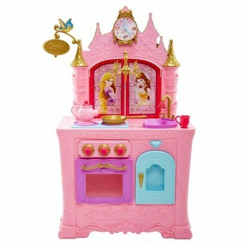 Disney Princess Royal Kingdom Kitchen And Cafe Castle S Toddler Playset Set Pretend Play Sounds