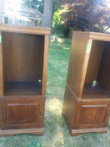2 Gorgeous Cherrywood Cabinets!!!