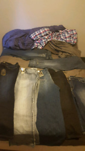 plus size jeans. most brand new with tags