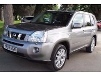 Nissan X-Trail 2.0 dCi Tekna 5dr SAT NAV,LEATHER,SUNROOF GLASS