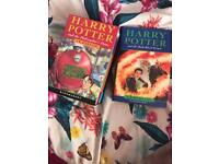 Harry Potter book collection.