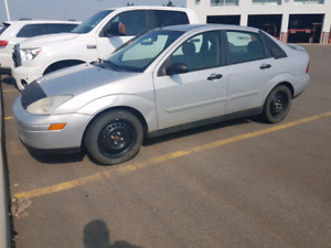 2002 ford focus ZTS 5 speed manual.