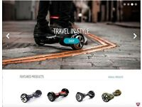 Online Franchise Business Opportunity - eHover Segway Hoverboard eCommerce Store - £50K+ Income