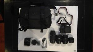Canon Camera Ultimate Package 6 months old used only 3 times