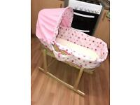 My dolly Moses Basket