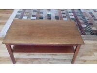 Mahogany coffee table. Very good condition.