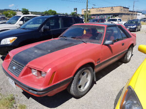 1983 Ford Mustang GT Hatchback 5.0