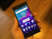 Xperia xz unlocked blue in good condition