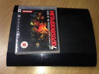 Playstation 3 Super Slim + Metal Gear Solid 4 (No Controller)