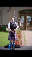 Bagpiper For Hire : Entertainment