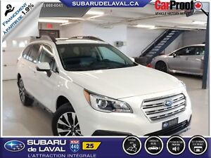 2015 Subaru Outback 2.5i Limited Awd *Cuir et Navigation*