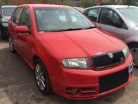 Skoda Fabia VRS 1.9 TDI 130 PD 2006 + FULL SERVICE HISTORY + SPARES AND REPAIRS
