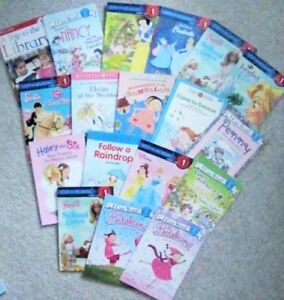 BARBIE & The DISNEY Ladies = STEP READERS  for the Girls