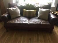 Antique leather sofas