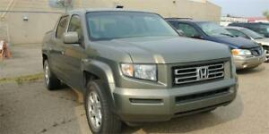2007 Honda Ridgeline, EX-L, Leather, sunroof,4X4, remote starter