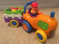 Musical moving tractor - great condition