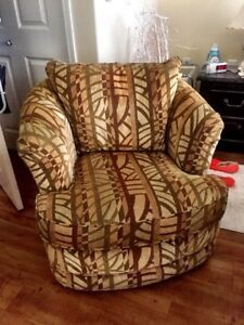 Large Lazy Boy swivel chair