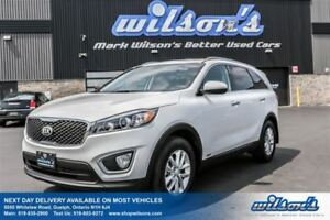 2017 Kia Sorento LX AWD! HEATED SEATS! BLUETOOTH! POWER PACKAGE!