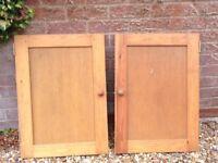 Pine cupboard doors