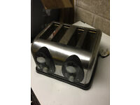 Stainless steel electric toaster