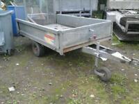 Beatson quad trailer 8x4 like ifor williams no vat