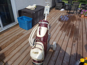 Ladies golf clubs/bag right handed