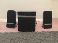USB plug in speakers, 3 set.