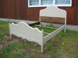 Antique Double Sized Bed Frame