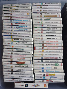 Selling Nintendo 3DS & DS Games + Consoles!