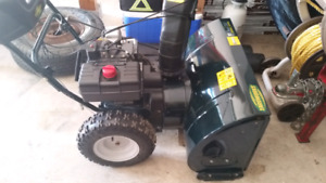 Yard works 30 inch 10.5 hp like new with electric start