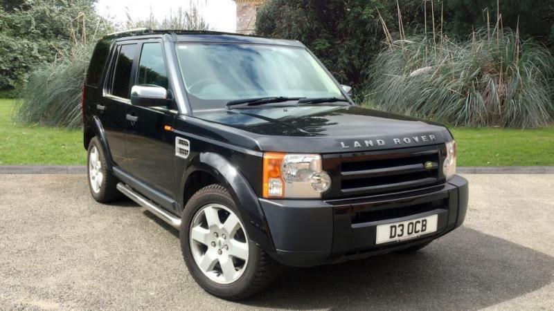 Land Rover Discovery 3 2.7TD V6 auto 2007MY GS BLACK DIESEL