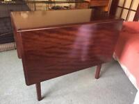 Stag Gate Leg Folding Table