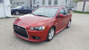 2013 Mitsubishi Lancer GT Sedan, Remote Start, All Wheed Drive