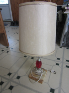 FS: table lamps