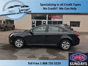 2014 Chevrolet Cruze LT, Cruise, AC, Hands free, Back up cam.