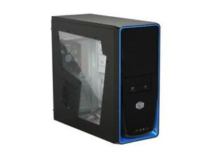 COOLER MASTER Elite RC-310-BWN1-GP Black Steel Mid Tower Case