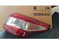 Nissan Qashquai Driver side rear light 2014 onwards