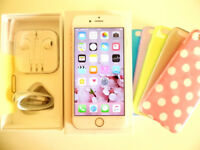Apple iPhone 6S Rose Gold 16GB (O2, Tesco, GiffGaff) in Immaculate Condition Smartphone
