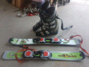 Mini ski alpin
